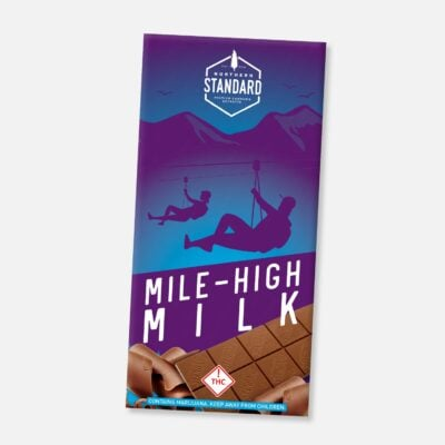 Mile High Milk (Gluten-Free): THC Chocolate Bar