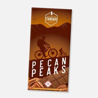 Pecan Peaks (Gluten Free) THC Chocolate Bars