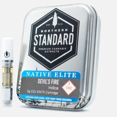 Devils Fire 0.5g Indica Cartridge