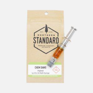 Chem Dawg - 1g CO2 Hybrid Refill Syringe