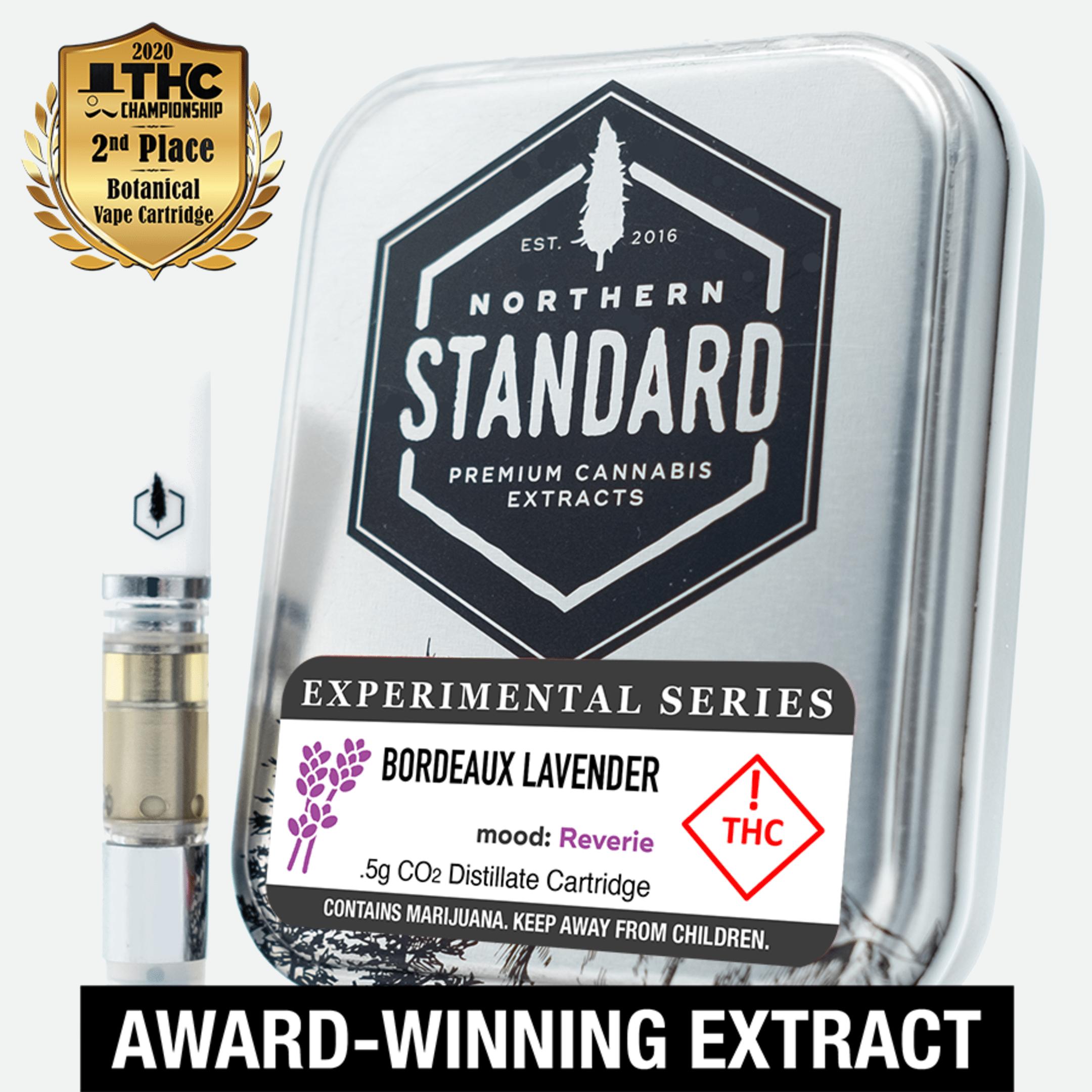 Bordeaux Lavender – 0.5g Cart