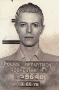 Cannabis Criminalization - David Bowie