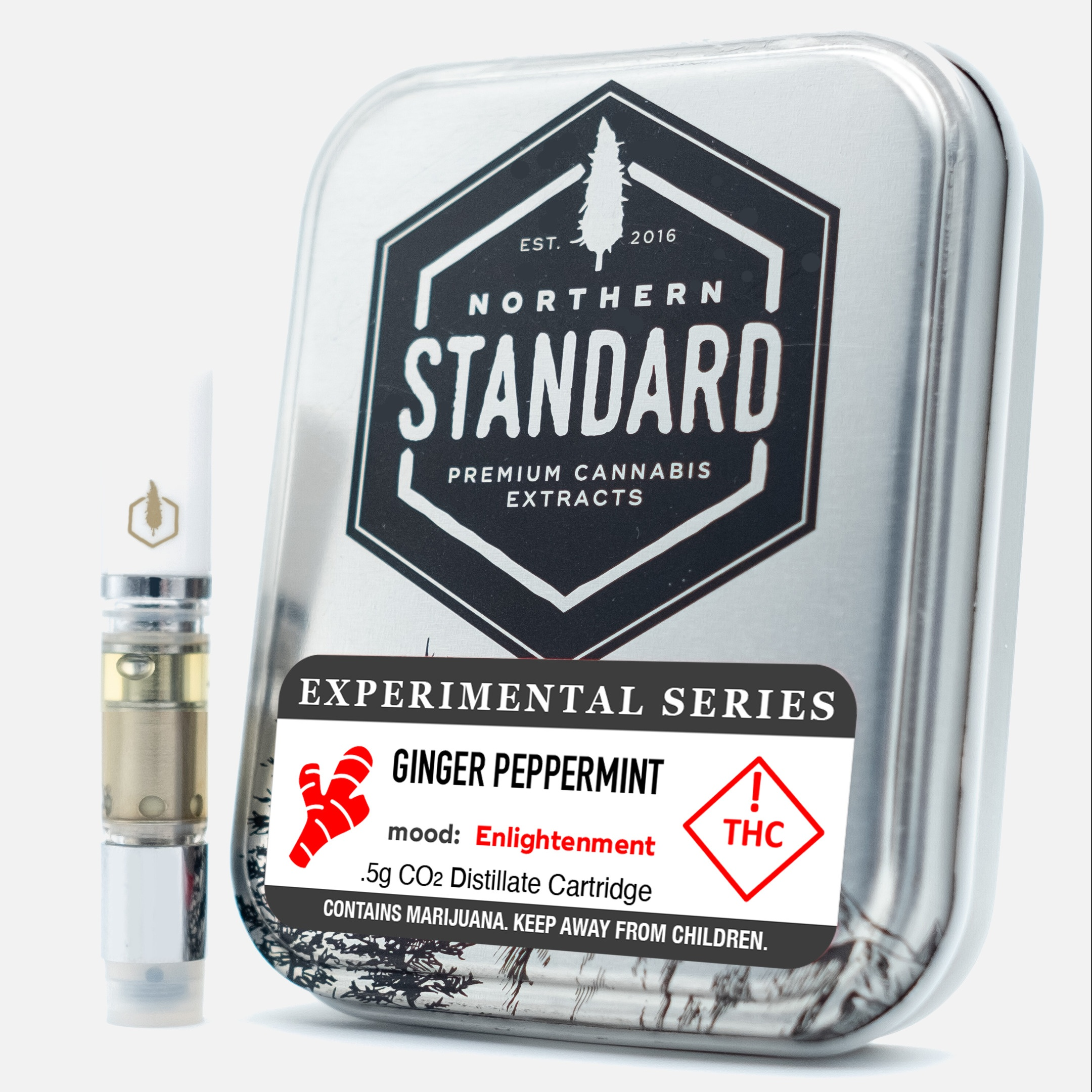 Ginger Peppermint – 0.5g Cart